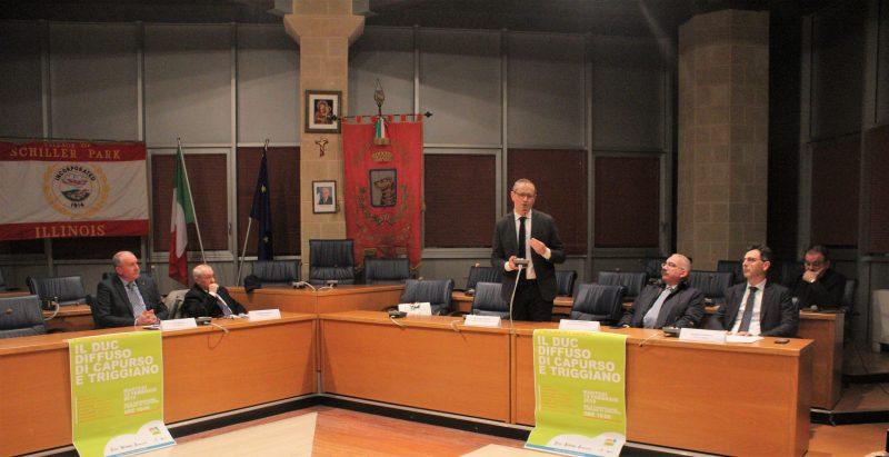 Presentazione del DUC nella Sala Consiliare del Comune di Capurso